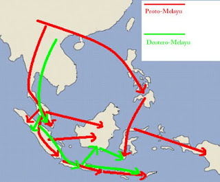 Persebaran Proto Melayu dan Deutro Melayu