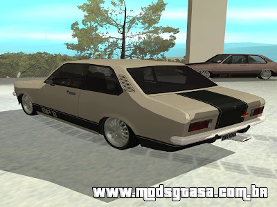 Chevrolet Chevette GP II 1976 Edit para GTA San Andreas