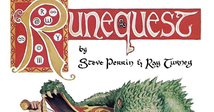 Tenkar's Tavern: Mini Review - RuneQuest 2nd Edition (PDF)