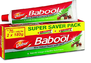 DABUR BABOOL TOOTHPASTE BEST TOOTHPASTE IN INDIA