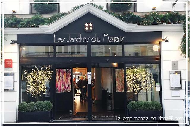 Bar  à chocolat Hugo & Victor aux Jardins du Marais