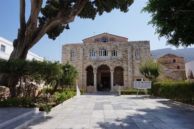 Parikia - Cathédrale Panagia Ekatontapiliani