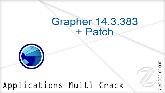 Grapher 14.3.383 + Patch   |  102 MB