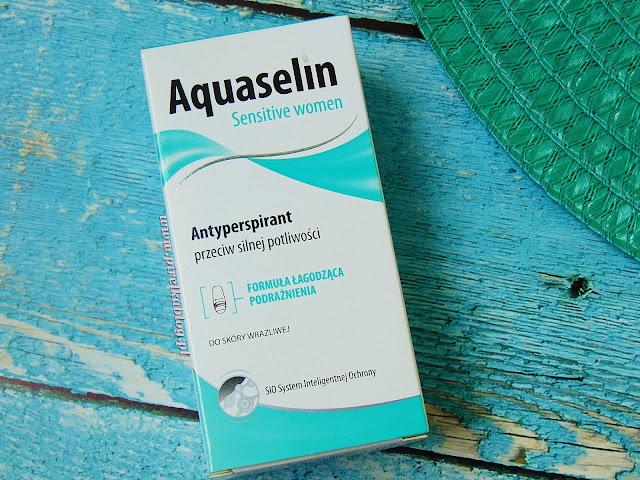 Aquaselin Sensitive women - Antyperspirant przeciw silnej potliwości