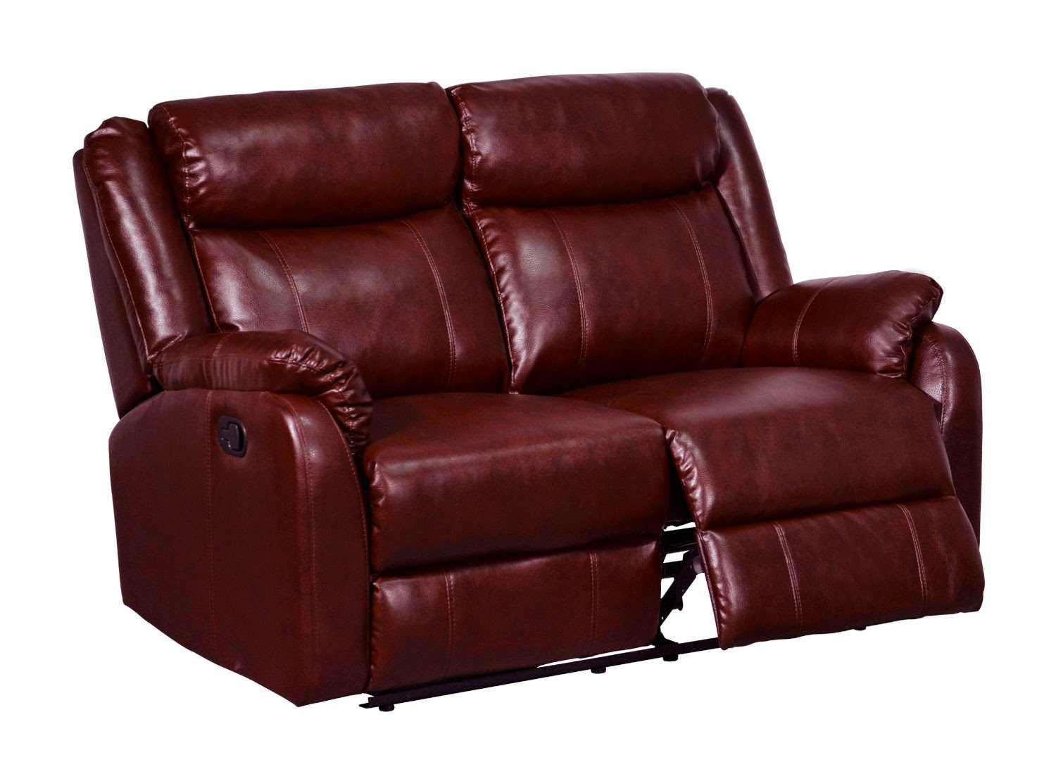 reclining sofa leather red blue walls cheap sofas sale 2 seater recliner