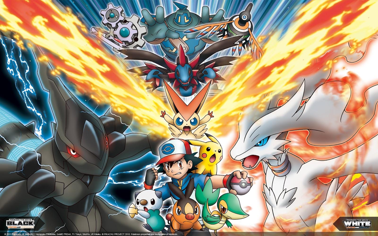 Anime 4k Wallpaper: Wallpapers Anime: Pokémon Black E White (HD