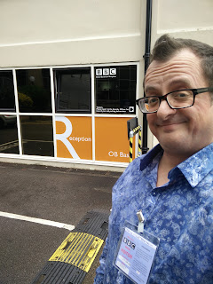 Chris Doc Strange at BBC Radio Bristol
