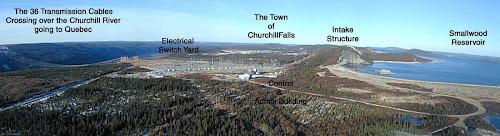 Usina Churchil Falls - Canadá