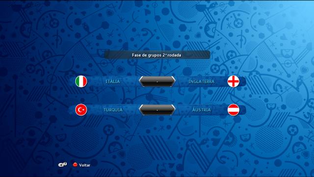 PES 2013 Graphic Menu EURO 2016
