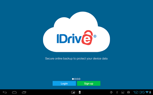 About IDrive Online Backup
