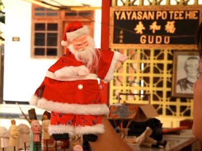 Wayang Potehi Karakter Sinterklas Bakal Meriahkan Natal di GKI Jombang