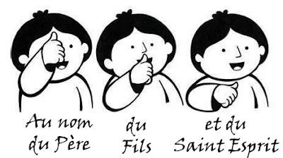 trois signes de croix