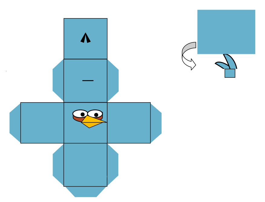 Angry Birds Para Recortar Y Armar
