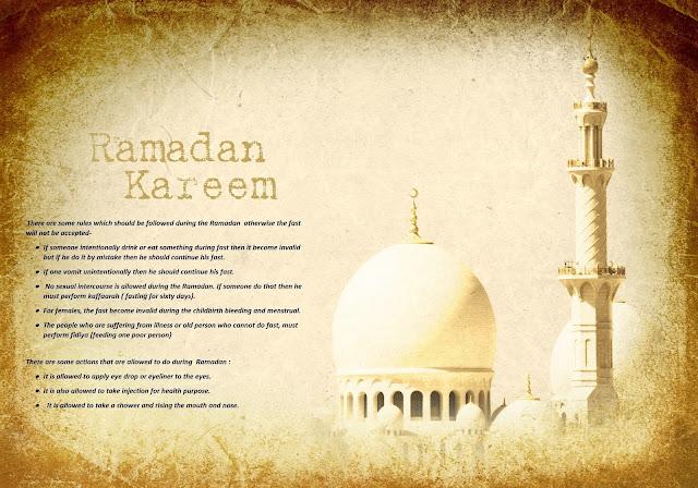 Ramzan-Mubarak-Rules