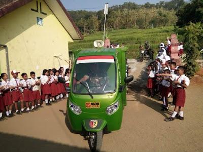 SIMOKOS Sasar Dua Sekolah di Desa Sekitar Lokasi TMMD
