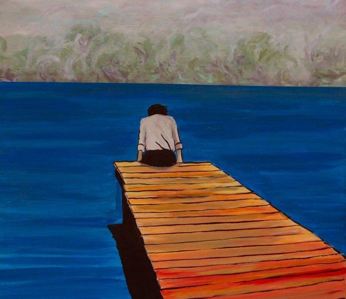 Венесуэльский художник. Romulo Guardia