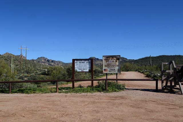 Bulldog Canyon gate