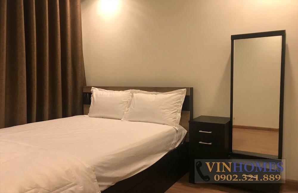 Căn hộ cho thuê quận Bình Thạnh Vinhomes - giường ngủ