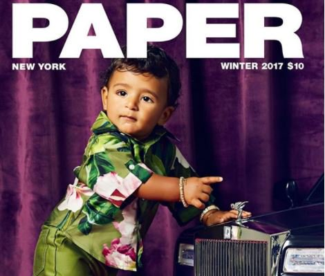 DJ Khaled's son, Asahd covers the latest issue of Paper Magazine