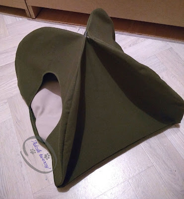 diy namiot dla kota