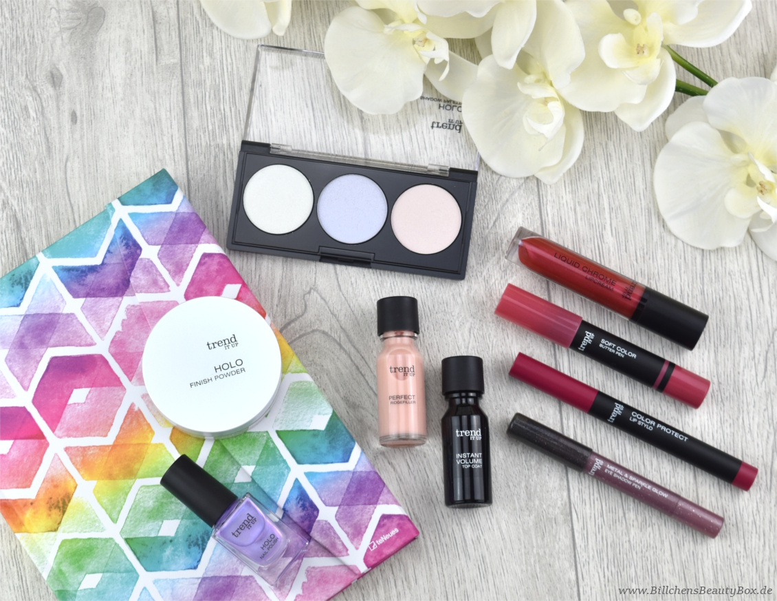 trend IT UP neues Sortiment Frühling und Sommer 2018 - Review und Swatches