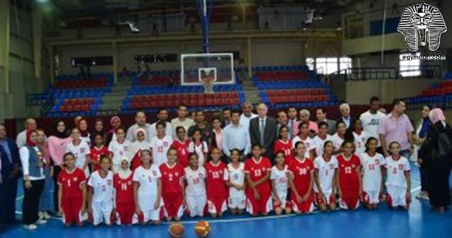 وزير الرياضة يعلن رعاية البطولة العربية للسلة سيدات بنادى الأولمبى بالصور