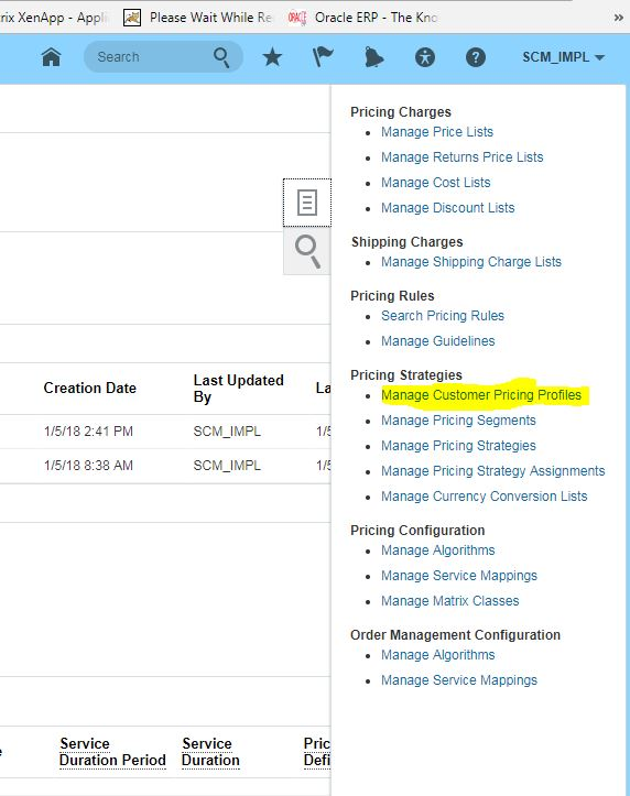 Oracle Fusion Cloud: Pricing configuration in Order