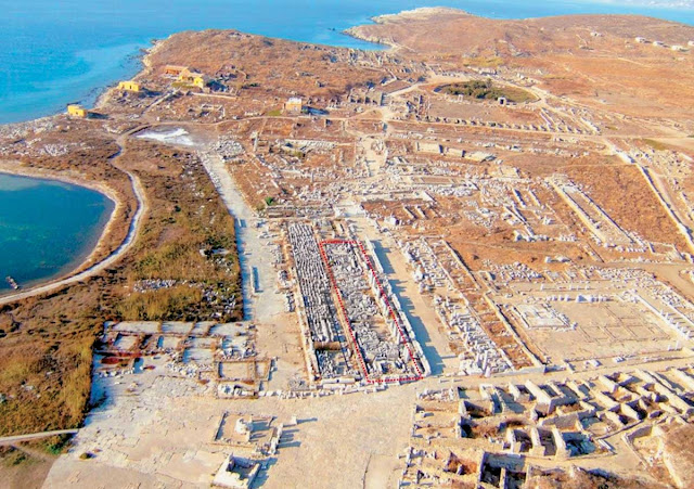 Restoration works at 'sacred isle' of Delos approved