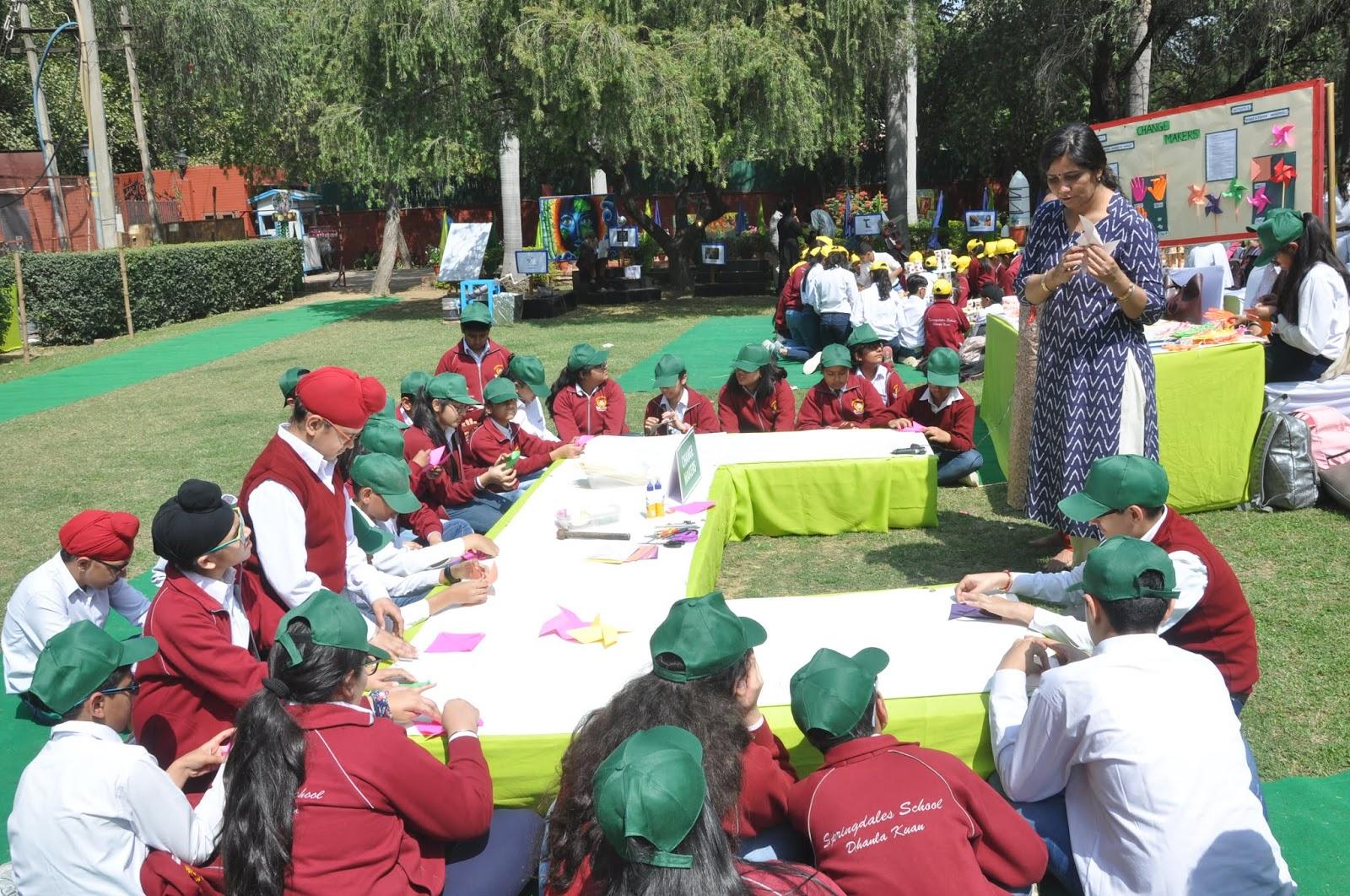 SPRINGDALES SCHOOLS organises ''Hamara Paryavaran '' - An