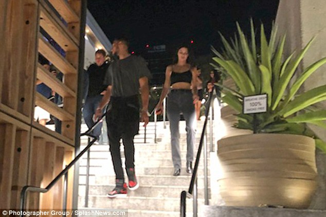 Kendall Jenner pictured out for dinner with rumored beau Ben Simmons in Los Angeles