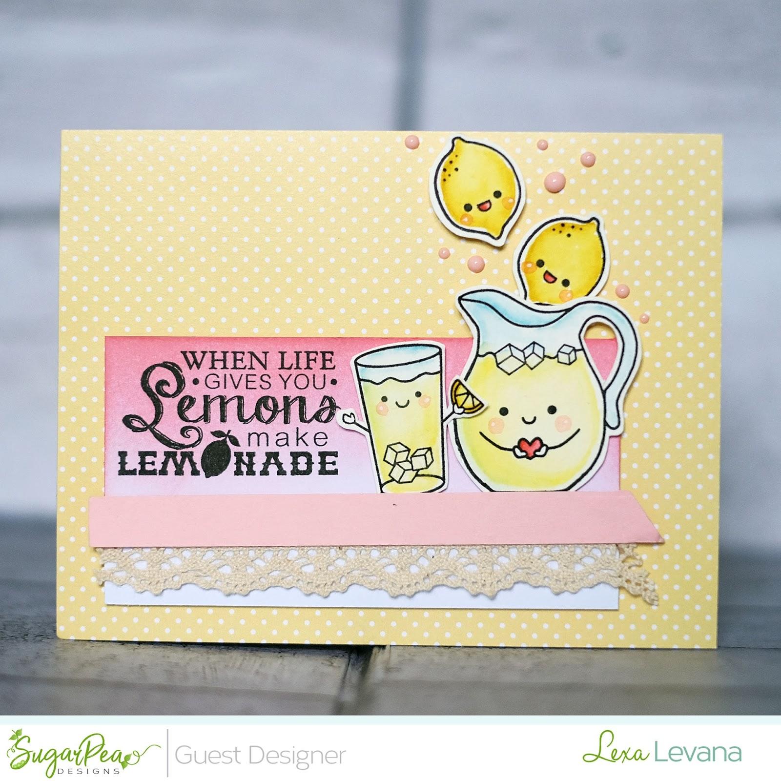 Lexas Artsy Corner Sugar Pea Guest Design Lemonade