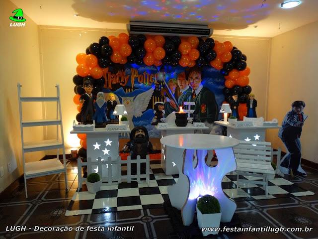 Decoração de festa infantil Harry Potter - Aniversário - Decoração provençal