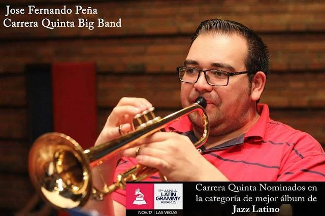 Un facatativeño está entre los nominados a los Grammy Latino