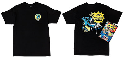 BAIT x Marvel Black Panther Comic Book T-Shirt