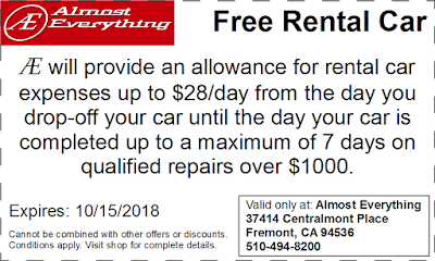 Coupon Free Rental Car September 2018