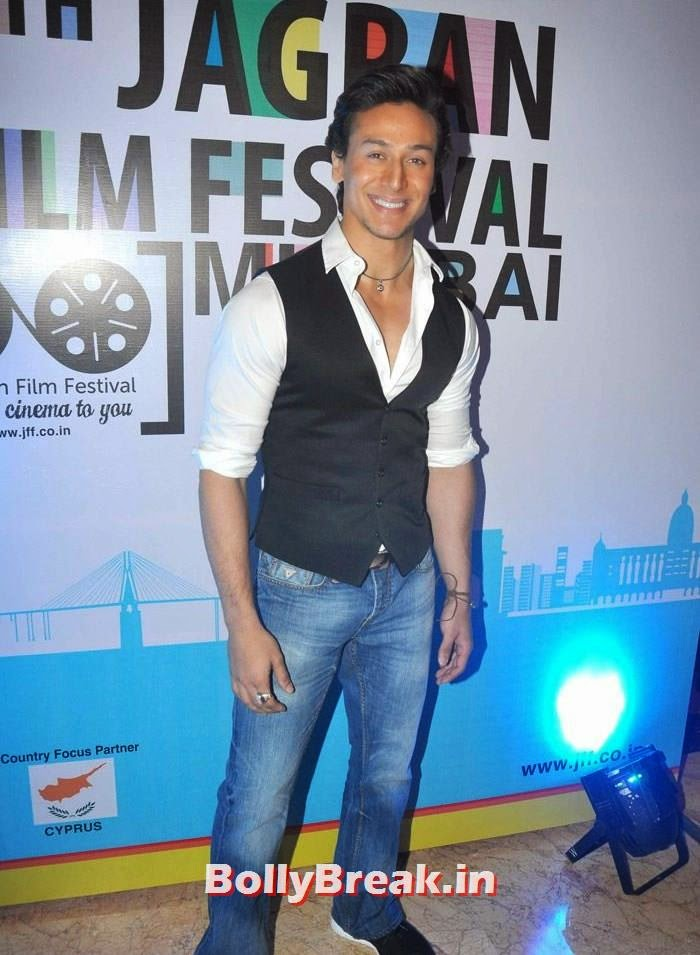 Tiger Shroff, 5th Jagran Film Festival Red Carpet Pics