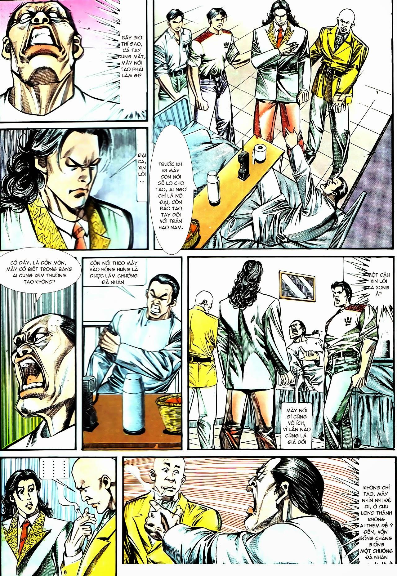 Người Trong Giang Hồ chapter 130: cô ta đến từ giang hồ trang 16