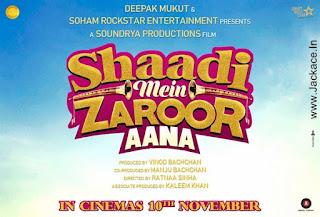 Shaadi Mein Zaroor Aana First Look Poster 1