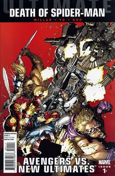 Ultimate Comics: Avengers Vs New Ultimates