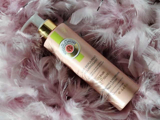 Avis Lait Repulpant Fleur de Figuier de Roger&Gallet, blog beauté, blog bougie, blog parfum
