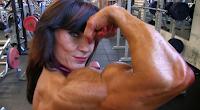 Female bodybuilding an athlete body