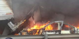 Aumenta a 9 los muertos tras carambola de vehiculos en autopista Puebla-Orizaba