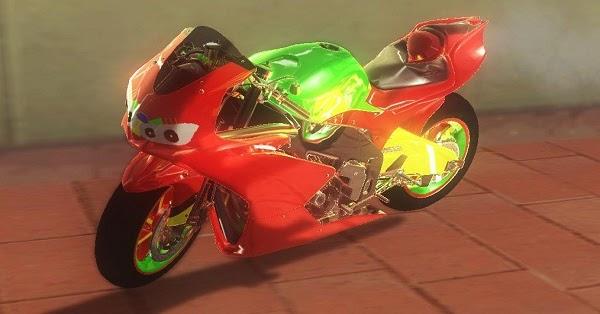 Motor Ninja Keren Merah | GTAind - Mod GTA Indonesia
