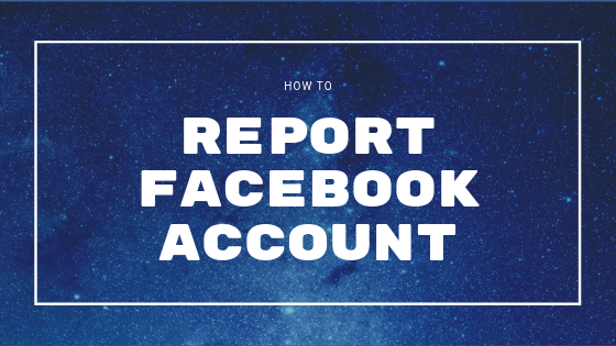 How To Report Someone On Facebook<br/>