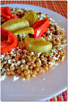 Φακές με πράσινες ντομάτες τουρσί - by https://syntages-faghtwn.blogspot.gr