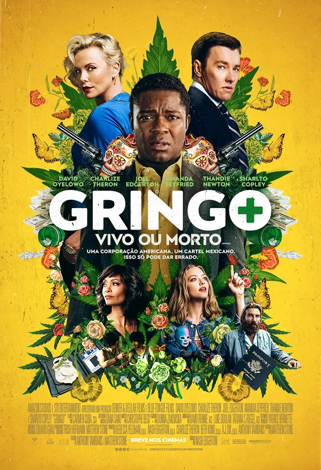 Gringo: Vivo ou Morto Dublado Torrent