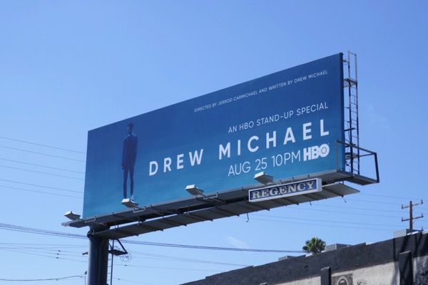 Drew Michael HBO standup billboard