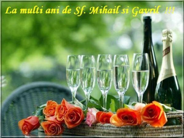 La multi ani de Sfintii Mihail si Gavril