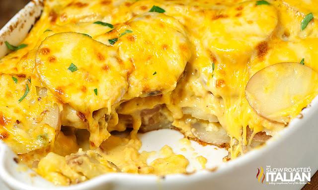 http://www.theslowroasteditalian.com/2014/10/cheesy-potatoes-au-gratin-recipe.html