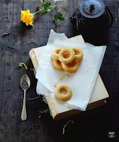 Mini donuts de limón con semillas de amapola